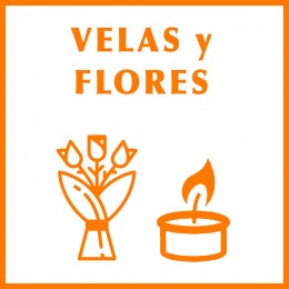 Velas Decorativas y Flores Artificiales para Decorar