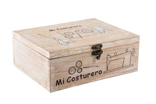 Costurero Madera Natural