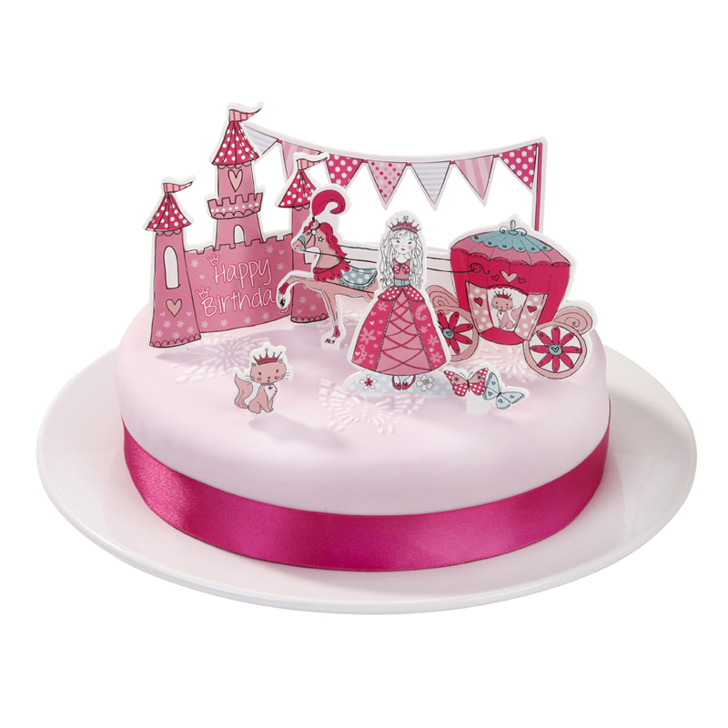 Decoración Tarta Princesa