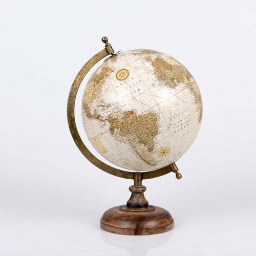 Varios globo terr queo beig - Bola del mundo decoracion ...
