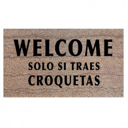 Felpudo Welcome Croquetas