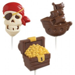 Molde Candy & Chocolate Piratas