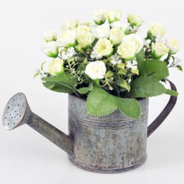 Regadera Metal Flores