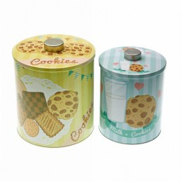 Set 2 Latas Galletas