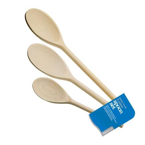 Accesorios cocina set 3 utensilios cocina madera for Utensilios medidores cocina