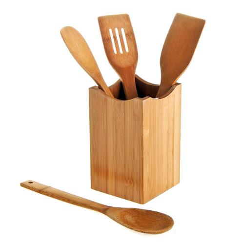 accesorios cocina portautensilios bamb