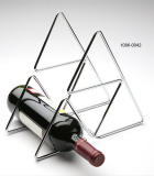 Botellero Metal Pirámide