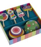 Jgo. 24 Moldes Cupcakes Cumpleaños