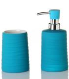 Juego Baño Rubber Azul