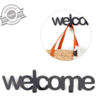 Percha Pared Welcome