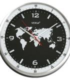 Reloj Aluminio Mundo
