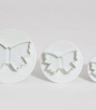Set 3 Cortadores Mariposas
