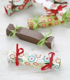 Set 6 Mini Cajas Caramelo